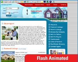 A Typical Real Estate Web Site Template